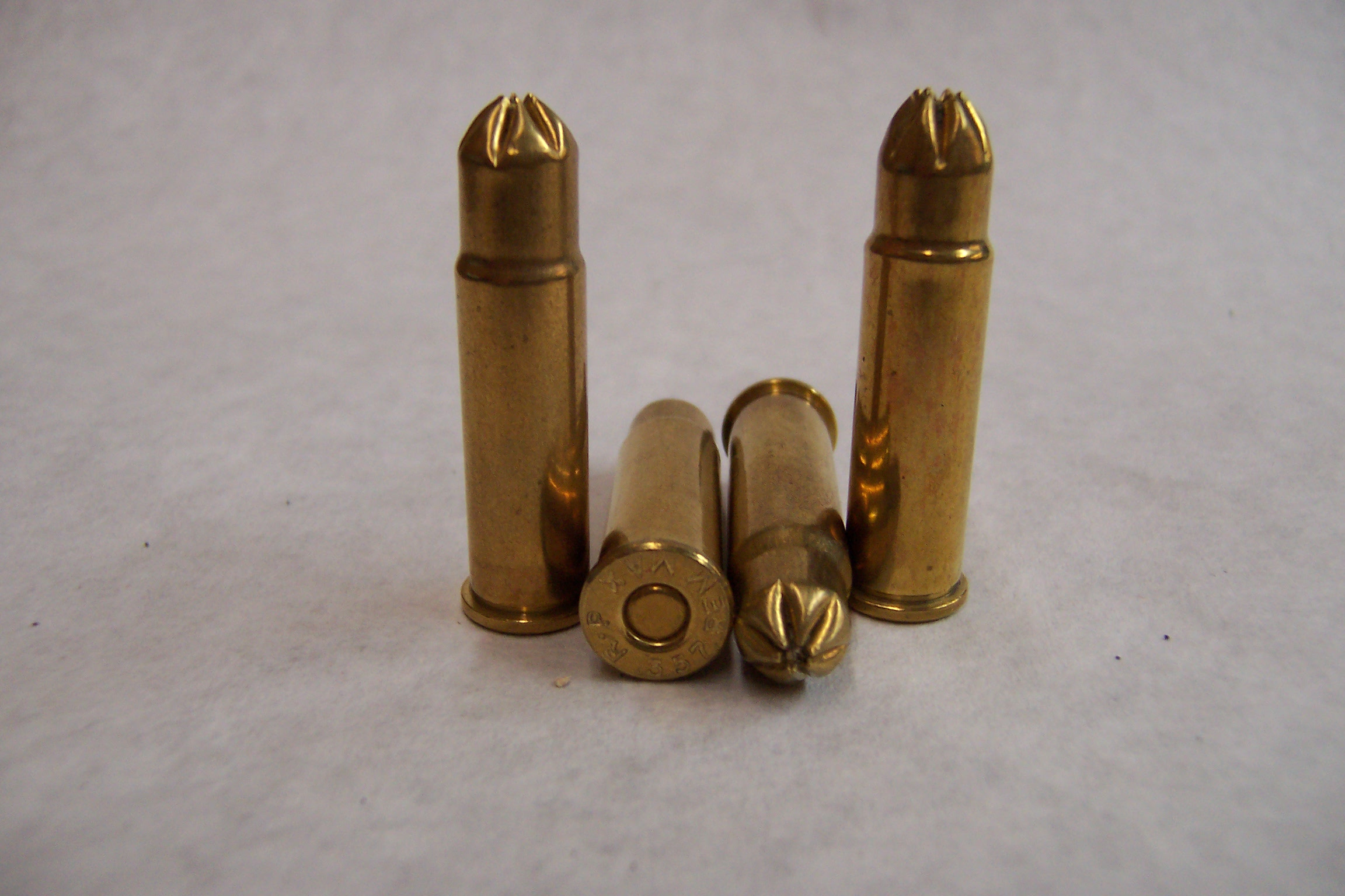 Full loaded 357 Mag Blanks